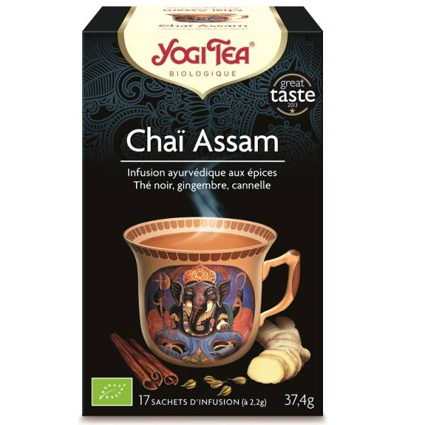 Yogi Tea Chai Assam 17 sachets