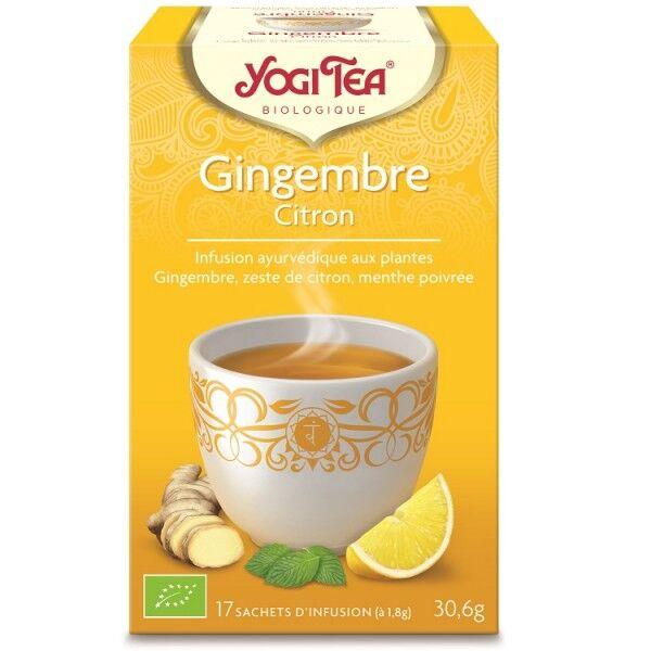 Yogi Tea Gingembre Citron 17 sachets