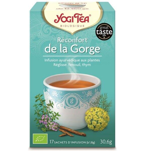 Yogi Tea Reconfort de la Gorge 17 sachets