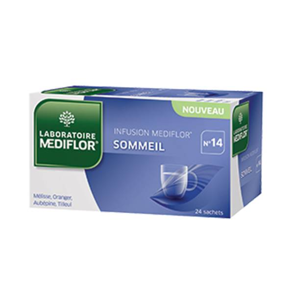 Mediflor Infusion Sommeil n°14 24 sachets