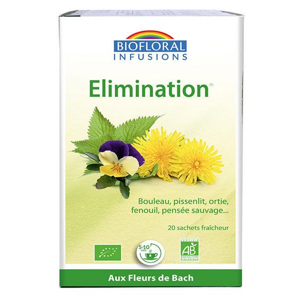 Biofloral Infusion Fleurs de Bach Elimination 20 sachets