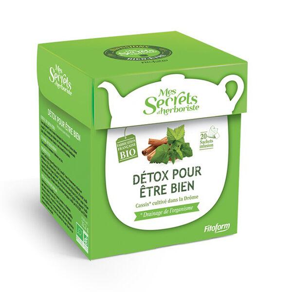 Mes Secrets d'Herboriste Infusion Détox Bio 20 sachets