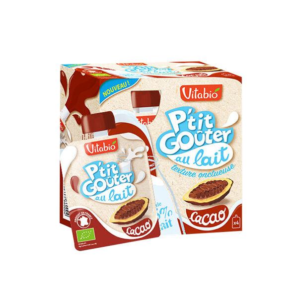 Vitabio P'tit Goûter au Lait Cacao 4 x 85g
