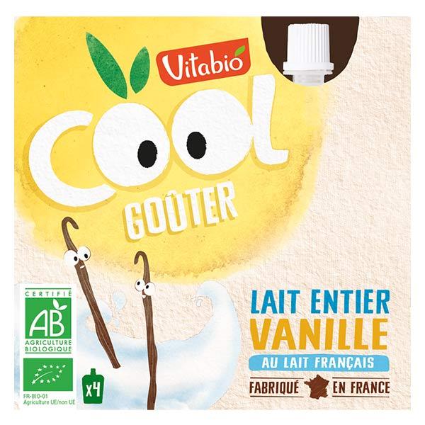 Vitabio P'tit Goûter au Lait Vanille 4 x 85g