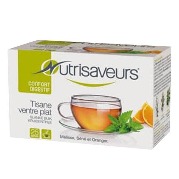 Nutrisaveurs Tisane Ventre Plat Saveur Orange 25 sachets