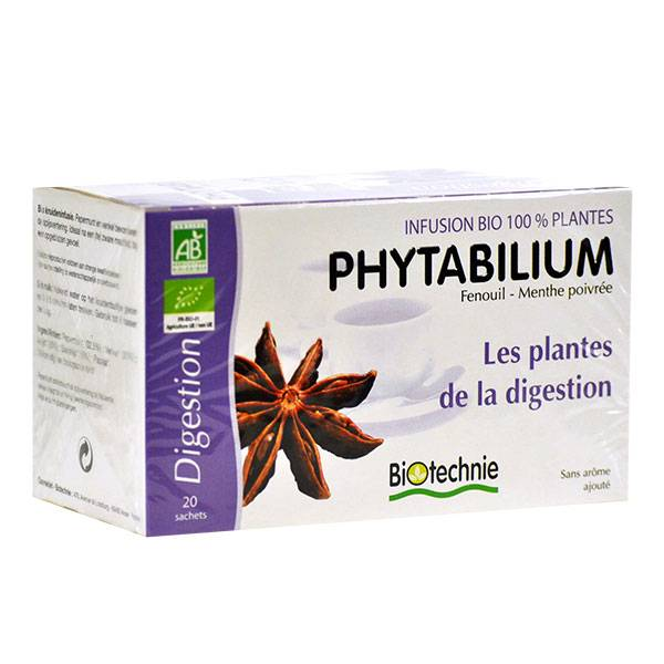 Biotechnie Infusion Phytabilium Bio Digestion 20 sachets