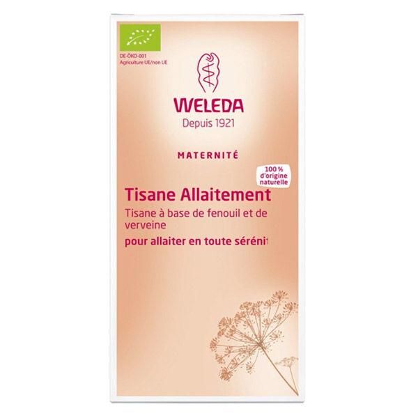 Weleda Tisane Allaitement Fenouil Verveine 20 Sachets
