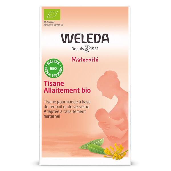 Weleda Maternité Tisane Allaitement Fenouil Verveine Bio 20 Sachets