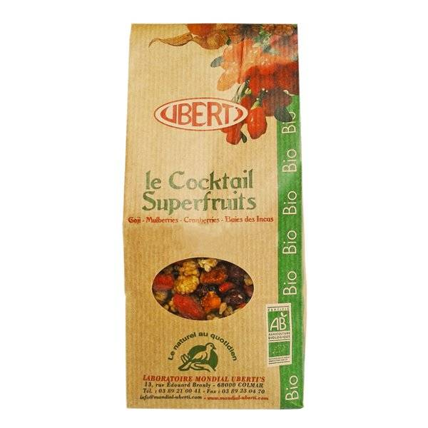 Uberti Le Cocktail Superfruits Bio 400g