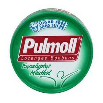 Pulmoll Bonbons Arôme Eucalyptus Menthol 45g