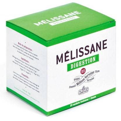 Eau de Mélisse des Carmes Tisane Digestion 20 sachets