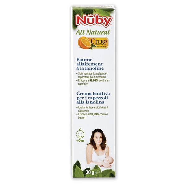 Nuby All Natural Baume Allaitement à la Lanoline 30g