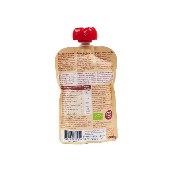 Holle Gourde Bio Banane Pomme Mangue Abricot 6m+ 100g