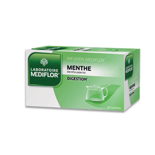 Mediflor Médiflor Infusion Menthe 24 sachets