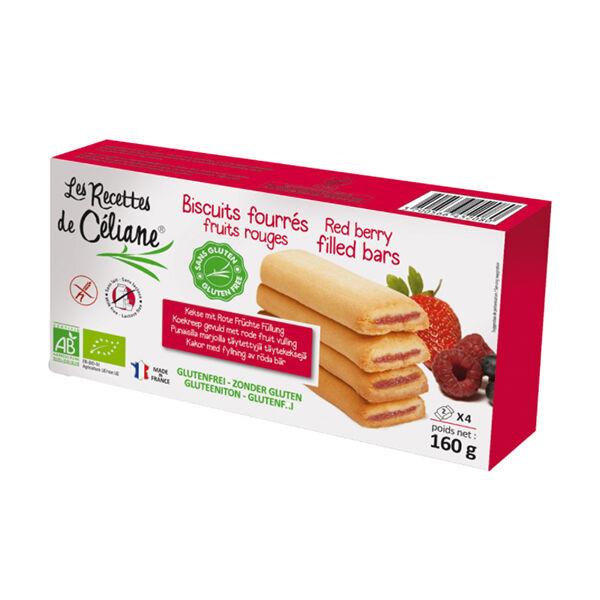 Les Recettes de Céliane Biscuits Fourrés Fruits Rouges 160g
