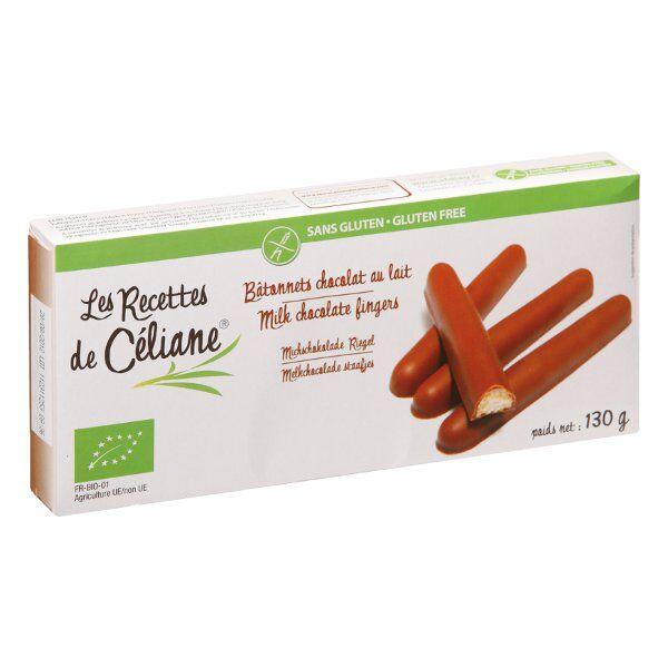 Les Recettes de Céliane Bâtonnets Chocolat au Lait 130g
