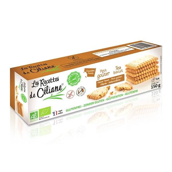 Les Recettes de Céliane Biscuits Nature 150g
