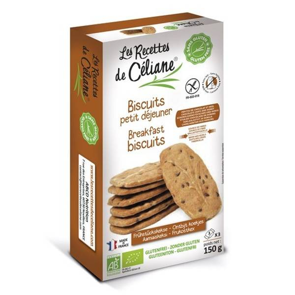 Les Recettes de Céliane Biscuits Petit Déjeuner 150g