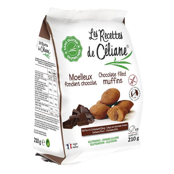 Les Recettes de Céliane Mini Muffins Chocolat 210g
