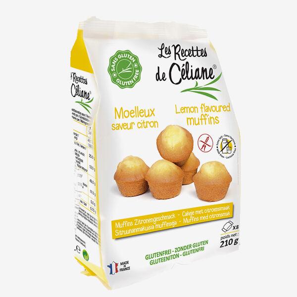 Les Recettes de Céliane Mini Muffins Citron 210g