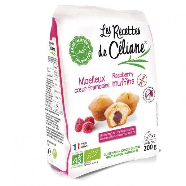 Les Recettes de Céliane Mini Muffins Framboise 200g