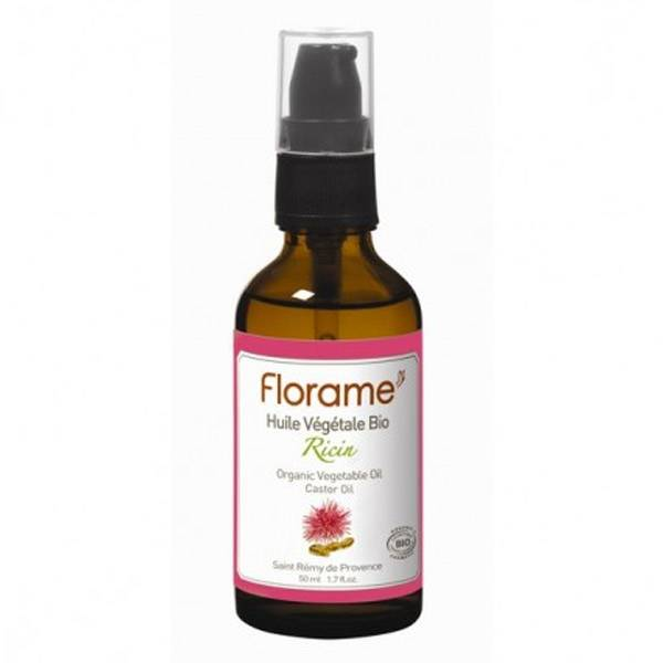 Florame Aromathérapie Huile Végétale Ricin Bio 50ml