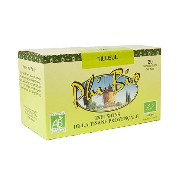 Tisane Provencale Tisane Provençale Phi Bio Infusion Tilleul 20 sachets