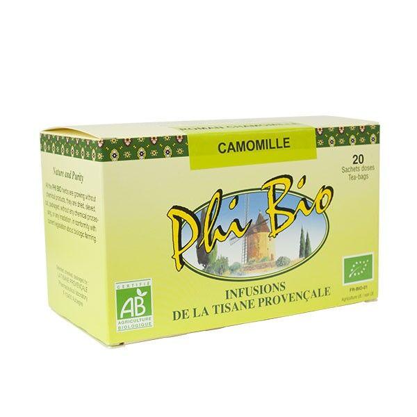 Tisane Provençale Phi Bio Infusion Camomille 20 sachets