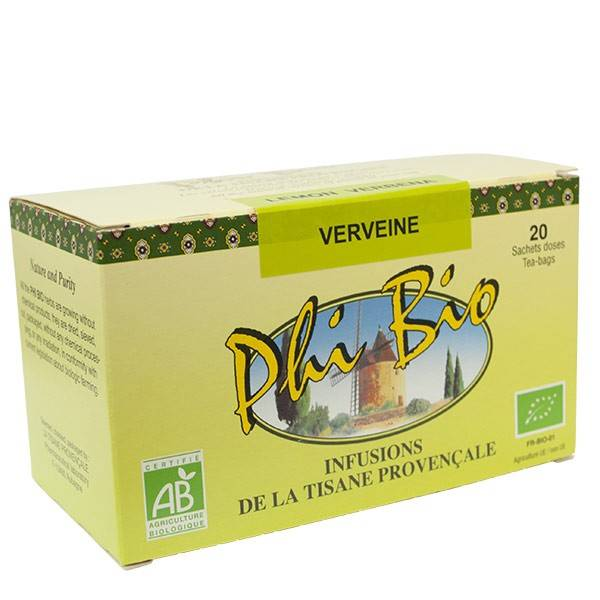 Tisane Provençale Phi Bio Verveine 20 sachets