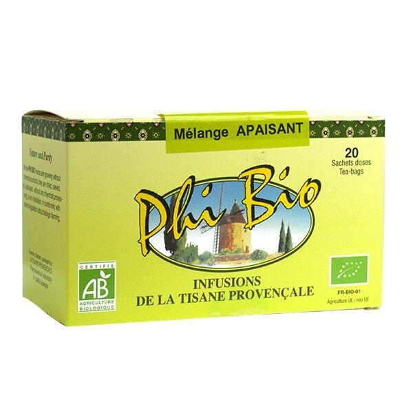 Tisane Provençale Phi Bio Mélange Apaisant 20 sachets