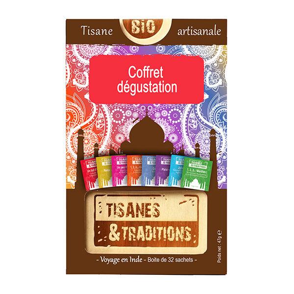 Tisanes & Traditions Coffret Dégustation 32 sachets