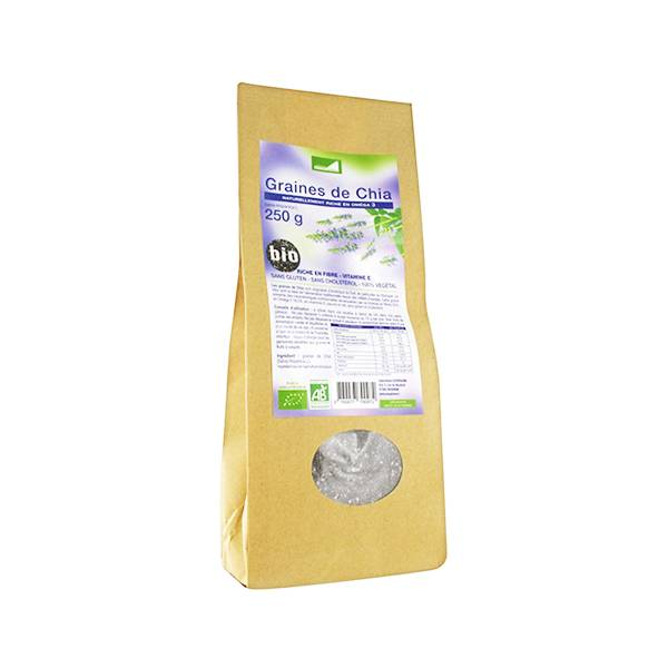 Exopharm Graines de Chia 250g