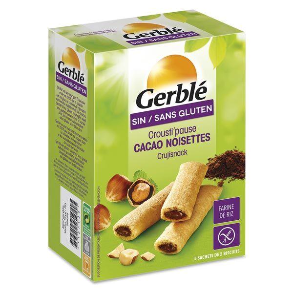 Gerblé Sans Gluten Crousti Pause Cacao Noisettes 125g