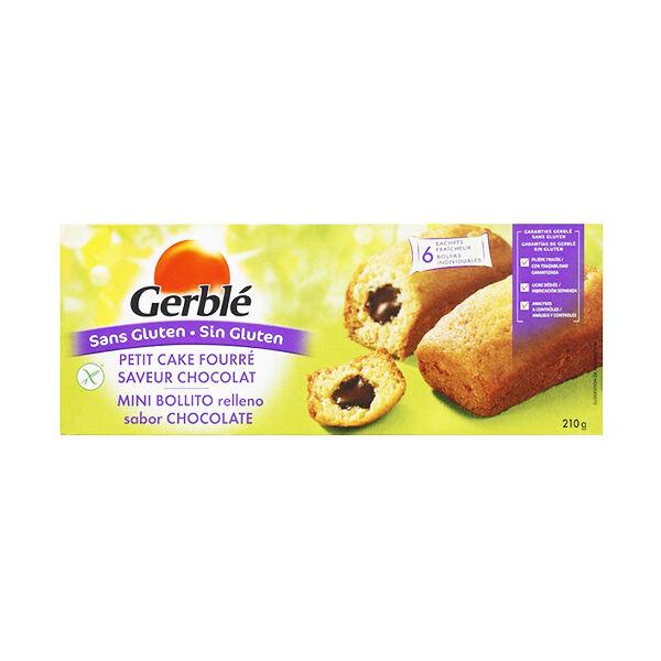 Gerblé Sans Gluten Cake Fourré Chocolat 210g