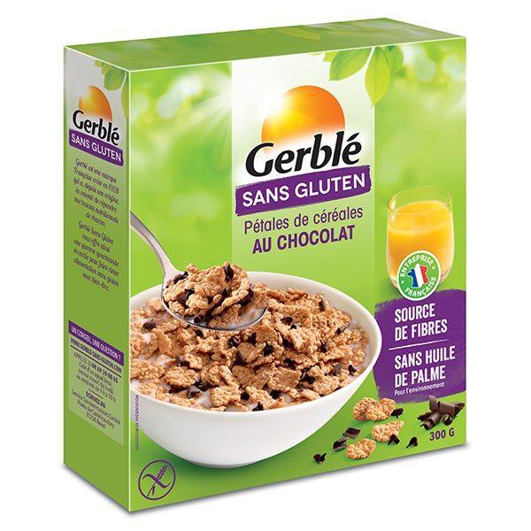 Gerblé Sans Gluten Pétales Céréales Chocolat 300g