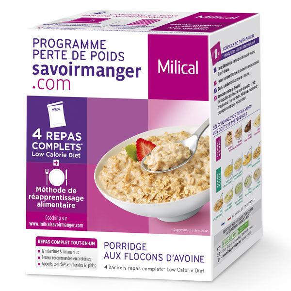 Milical LCD Porridge Aux Flocons D'Avoine 4 sachets repas