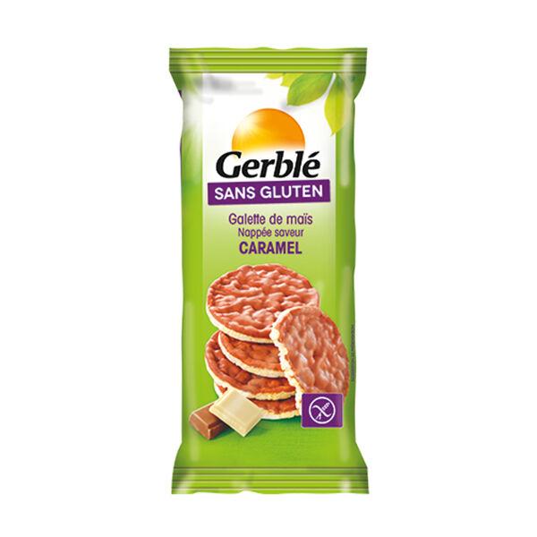 Gerblé Sans Gluten Galettes Maïs Caramel 95g