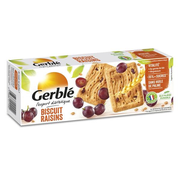 Gerblé Biscuit Raisins 16 unités