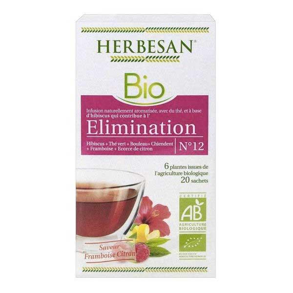 Herbesan Infusion Elimination N°12 20 sachets