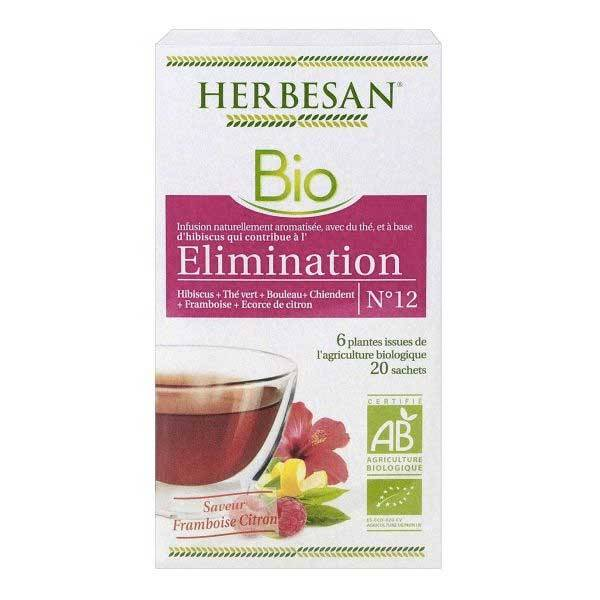 Herbesan Infusion Elimination N°12 20 sachets