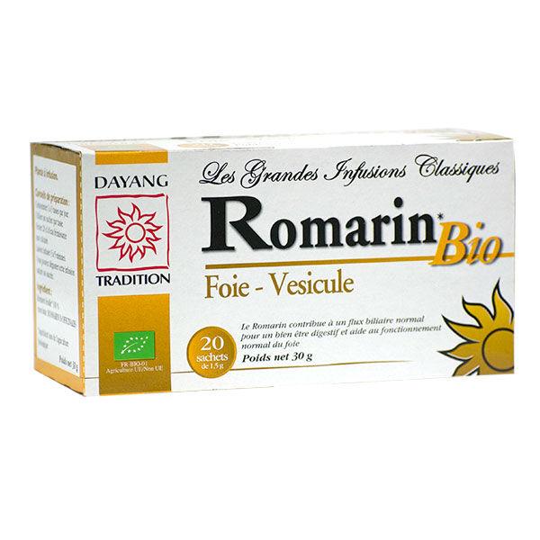 Dayang Infusion Romarin Bio 20 sachets