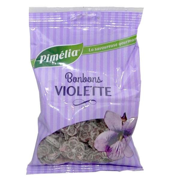 Pimelia Bonbons Violette d'Antan 100g