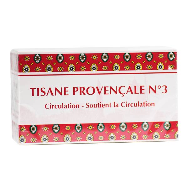 Tisane Provençale N3 Circulation 20 sachets