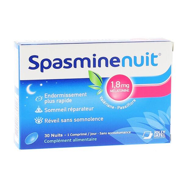 SpasmineNuit Mélatonine 30 comprimés