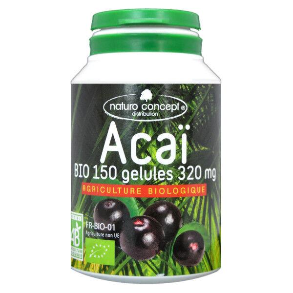 Naturo Concept Acaï Plantes d'Amazonie Bio 150 gélules