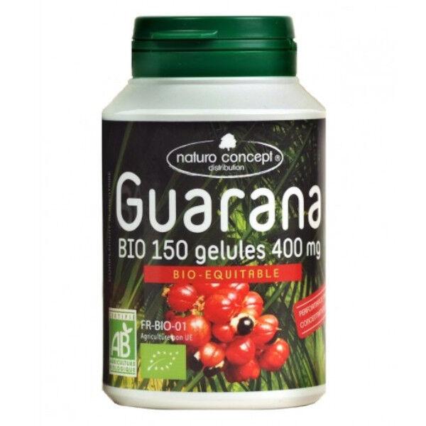 Naturo Concept Plantes d'Amazonie Guarana Blanc Bio 150 gélules