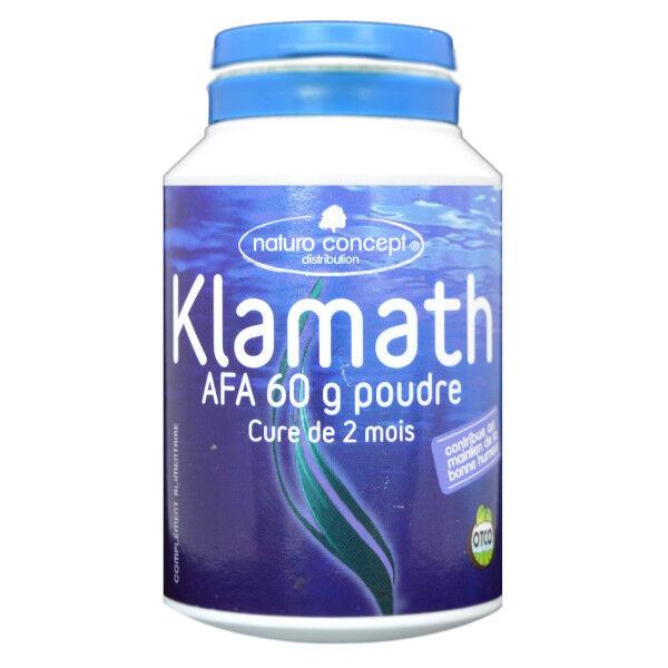 Naturo Concept Algues d'Eau Douce Poudre de Klamath Bio 60g