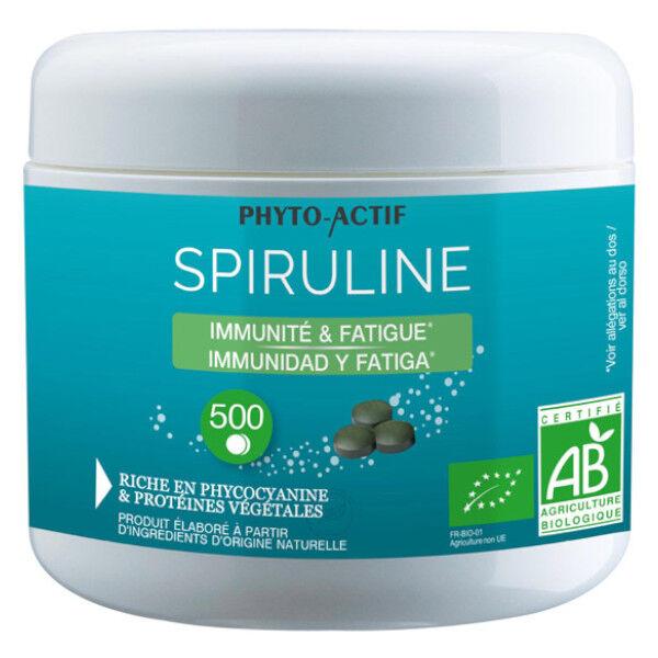 Phyto Actif Spiruline Bio 500 comprimés