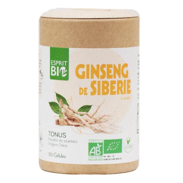 Esprit Bio Ginseng 120 gélules