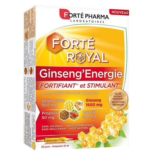 Forté Pharma Forté Royal Ginseng'Energie 20 ampoules